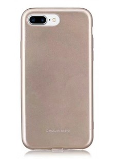 Molan Cano Glossy Jelly Case iPhone 5/5s/SE (gold)