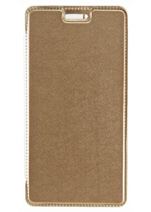 КНИЖКА FLIP COVER Shine Samsung J2/210 gold (24416)