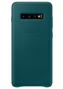 Чохол  SAMSUNG S10+/EF-VG975LGEGRU - Leather Cover (Green)