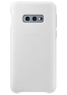 Чохол SAMSUNG S10e/EF-VG970LWEGRU - Leather Cover (White)