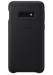 Чохол  SAMSUNG S10e/EF-VG970LBEGRU - Leather Cover (Black)