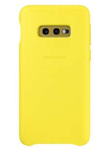 Чохол SAMSUNG S10e/EF-VG970LYEGRU - Leather Cover (Yellow)