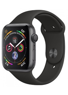 Apple Watch Series 4 (GPS+Cellular) 40mm Space grey Aluminum Blk Sport Band (MTUG2LL/A)