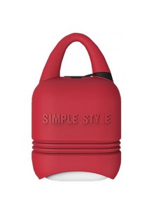 I-smile Apple AirPods Simple Style Case (red)