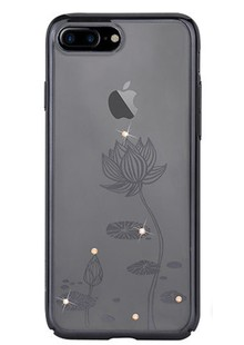 Devia Crystal Lotus for iPhone 7 Gun Black