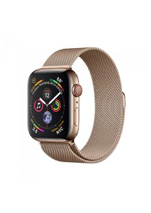 Ремешок Apple Watch Milanese Loop 38 mm/40 mm (sand gold)
