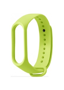 Ремешок Silicone Xiaomi Mi Band 2 (lime green)