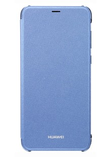 bag smart HUAWEI P Smart flip cover (Blue)