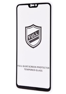 Glass Full Glue HQ Huawei P Smart+/Nova 3i без упаковки (black)