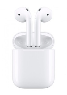Наушники Apple AirPods 2 with Wireless Charging Case MRXJ2