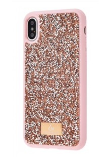 Bling World Circle Diamonds (TPU) iPhone Xs Max (rose gold)