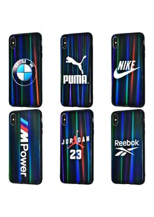 Brand glass case Benzo (Glass+TPU) iPhone Xs Max