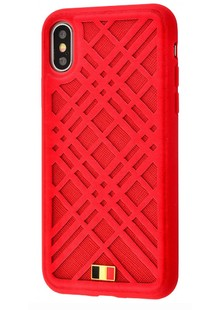 Mentor Giiter series iPhone Xs Max (red)