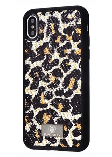 Bling World Leo and Snake (TPU) iPhone X/Xs (leopard)