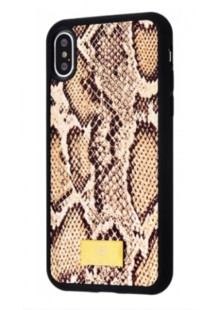 Bling World Leo and Snake (TPU) iPhone X/Xs (snake)