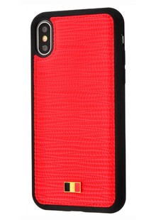Mentor Carlo series iPhone X/Xs (red)