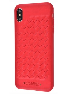 POLO Ravel (Leather) iPhone X/Xs (red)