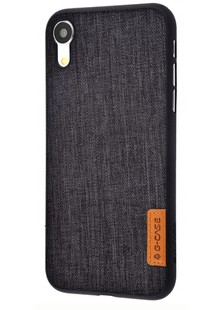 Накладка G-Case Dark Series iPhone Xr (carbon)