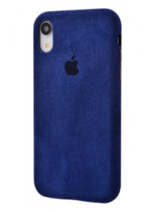 Alcantara 360 Protect iPhone Xr (midnight blue)