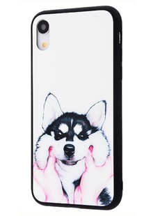 Glass case My style (Glass+TPU) Iphone Xr