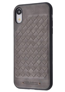 POLO Ravel (Leather) iPhone Xr (gray)