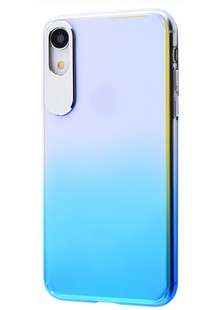 Rock Classy Gradient Protection Case (PC) iPhone Xr (blue)
