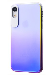 Rock Classy Gradient Protection Case (PC) iPhone Xr (purple)