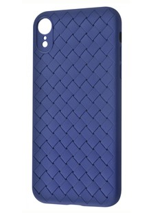 Rock Ultrathin weaving protective case iPhone Xr (blue)