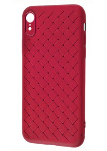 Rock Ultrathin weaving protective case iPhone Xr (red)