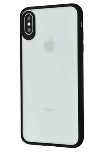Totu Crystal Colour Series iPhone Xr (black)