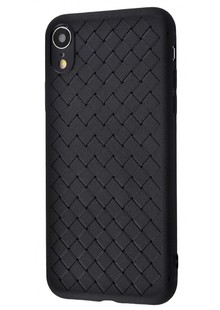 Weaving Case (TPU) iPhone Xr (black)