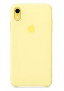 Накладка IPHONE Xr Silicone case Mellow Yellow