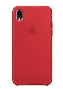 Накладка IPHONE Xr Silicone case red