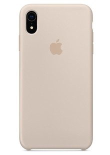 Накладка IPHONE Xr Silicone case stone