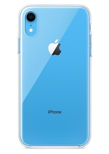 Чехол iPhone Xr Silicone case Clear (MRW62)