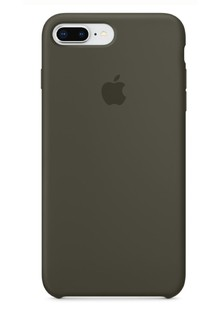 Apple Silicone Case for iPhone 8 Plus Dark Olive 1in1