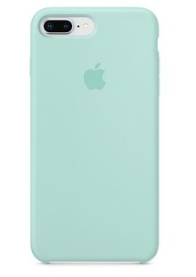 Apple Silicone Case for iPhone 8 Plus Marine Green 1in1