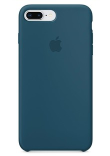 Apple Silicone Case for iPhone 8 Plus Cosmos Blue 1in1