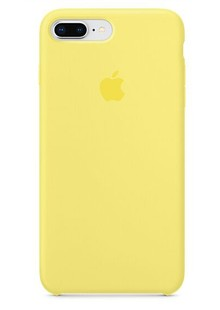Apple Silicone Case for iPhone 8 Plus Lemonade 1in1