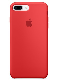 Apple Silicone Case for iPhone 8 Plus Red 1in1