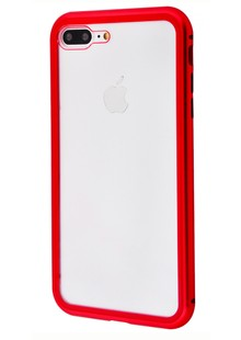 Накладка Magnette case Full 360 iPhone 7 Plus8 Plus Red