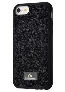 Bling World Grainy Diamonds (TPU) iPhone 6/6s Plus/7 Plus/8 Plus (black)