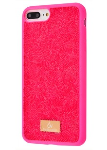Bling World Grainy Diamonds (TPU) iPhone 6/6s Plus/7 Plus/8 Plus (pink)