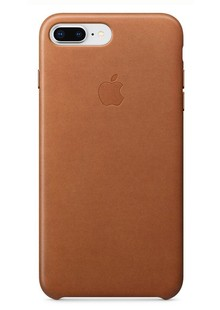 Накладка orig Apple iPhone 8 Plus Leather Case Saddle Brown (MQHK2)