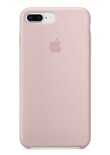 Накладка orig Apple iPhone 8 Plus Silicone Case  Pink Sand (MQH22)