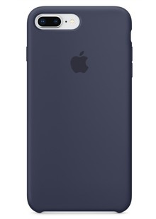 Накладка orig Apple iPhone 8 Plus Silicone Case Midnight Blue (MQGY2)